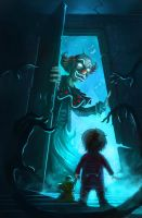 Clown Closet - MAMA Scared Stiff Contest Entry by BobKehl