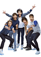 One Direction png 2 by MeganL125