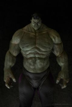 Hulk concept 2 by CarlosDattoliArt