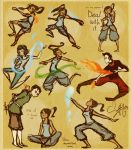 Korra sketches by Vilva