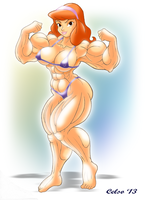 Muscle Daphne by Celso33