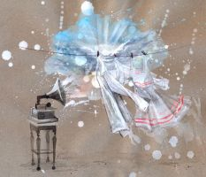 BILLY'S BAND _GRAMOPHONE DANCE by lora-zombie