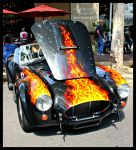 Cobra In Flames by StallionDesigns