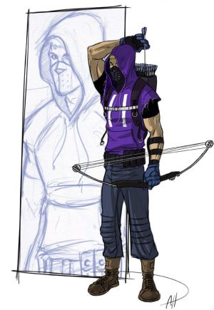 More real Hawkeye by deralbi