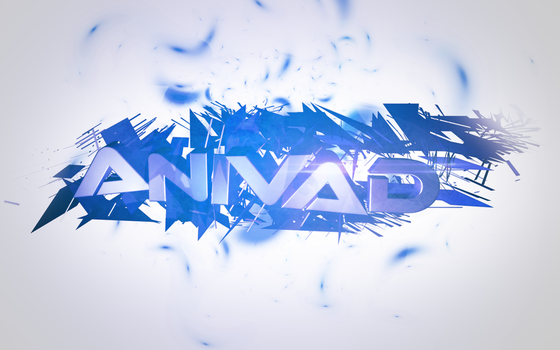 3D Text by AniVad32