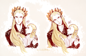 I like your hair daddy by AtomicKitten13