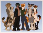 Anthro Group Picture by DolphyDolphiana