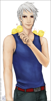 APH: Chick Magnet by kinno-nabi