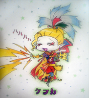 Kefka...happily destroying by Rydiah