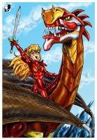 The Dragon and the George by Lord--Opal
