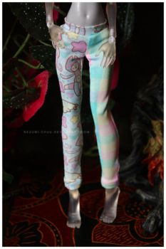 Shoppe : Pastel Sea Leggings by Nezumi-chuu