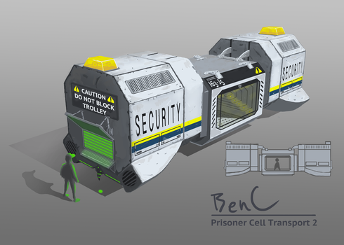 Portable Prison Cell 2 by eclipse561