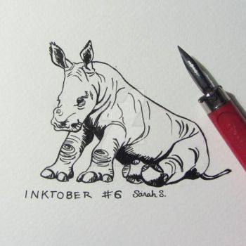 Inktober day 6 by saraquarelle