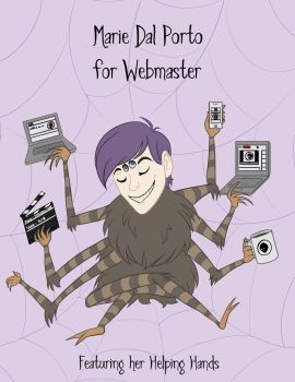 Web Master by TangerineVampire