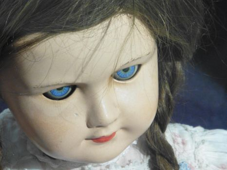 A Child's Porcelain Doll Went Missing One Night... by perfectpureblood