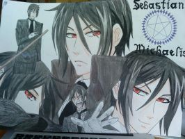 Sebastian Michaelis by martha1101