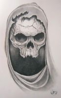 Macabre Skull by Klyde-Chroma