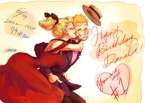 Happy Birthday Donald!!! by chacckco