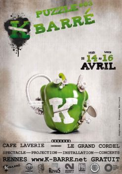 Affiche K barre Poiveron by leamings