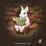 A quiet place to read - tee by InfinityWave