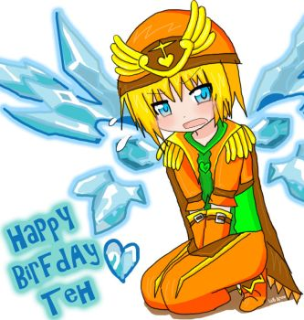 Happy BDAY Teh by iSketchy