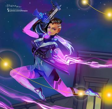 Overwatch: Sombra by Hassly