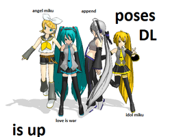 vocaloid pose DL is up by lemonyPV