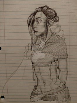 Work Doodle Unfinished by PassiveIre
