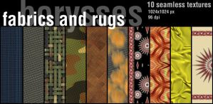 Fabrics and rugs by borysses