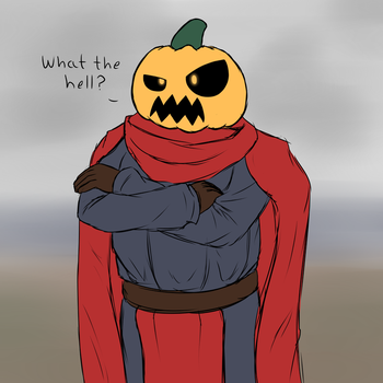 John the pumpking by Color-Spark