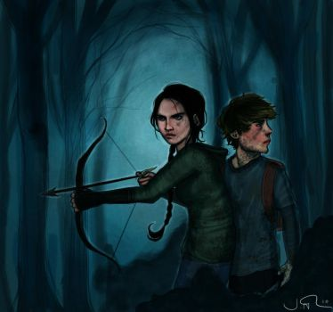 The Hunger Games by joshcmartin