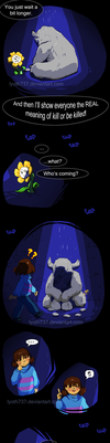 Undertale - I don't want your pity - Part 2 by lyoth737