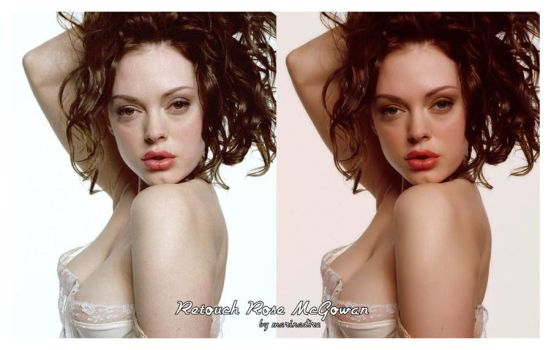 Rose McGowan-retouch by marinadire