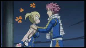 When do Natsu and Lucy dance? - Fairy Tail Answers - Fanpop |Lucy And Natsu Dance