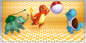 + Kanto Starters + by KyseL