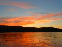 Another sunset at the lake by moonlightmist0101