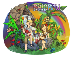 Rainbow Showers by FauxBoy