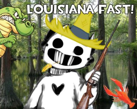 Louisianian Zacharie by TheSinSquad