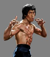 Bruce Lee by osx-mkx