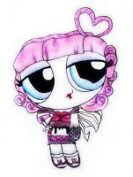 Monster High PowerPuffs- Cupid by RandomObsessive