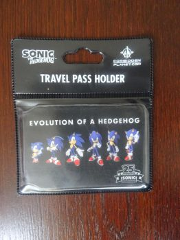 ''Evolution of a Hedgehog'' Travel Pass Holder by BoomSonic514