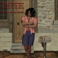 Independence for Palm outfit M4 (freebie) by AelinNamarie