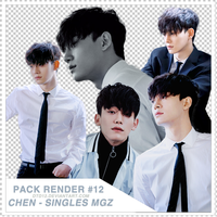 [PACK RENDER#12] CHEN - SINGLES MAGAZINE #1 by DTD12