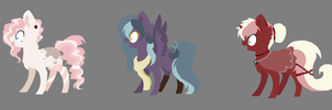 My Little Pony Adoptables  Closed  By Walrusdemocr by Zevhara