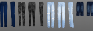 Male jeans pack DL by Rolneeq