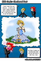 KH2 Comic: Checkered Past by Silverookami