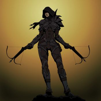 Demon Hunter by doubleleaf