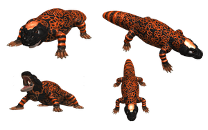 SPORE Creature: Gila Monster by Evilution90
