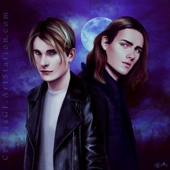 Ian and Eric by CeciliaGf