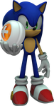 Sonic holding a point by mixlou